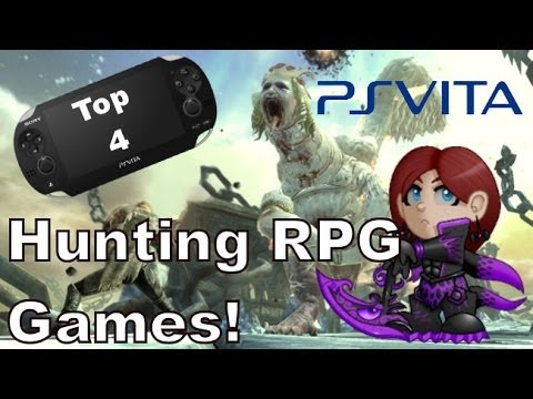 Sony Playstation Vita Top 4 Hunting RPG Games 2014 + Some Game Key Features!