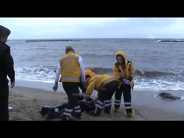 Turkey finds drowned bodies of 21 migrants, including children