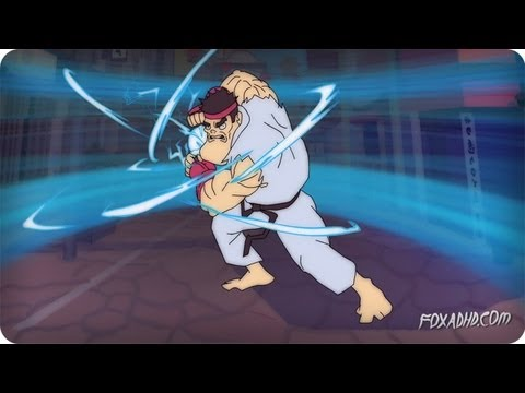 STREET FIGHTER: LONGEST SPECIAL MOVE | ANIMATION DOMINATION HIGH-DEF