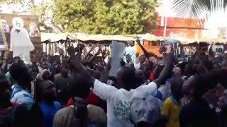 Rassemblement de la communauté musulmane sénégalaise contre l'hebdomadaire Jeune Afrique