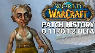 WoW Patch History: Patch 0.11 & 0.12 Betas