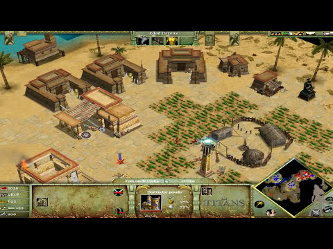 Age of Mythology  The Titans - Parte 5 - Las Antiguas Reliquias