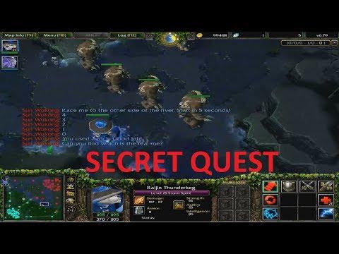 DotA 6.79 - Secret Quest