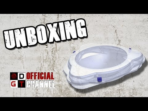 Metal Fight Beyblade Zero-G Attack Type Stadium Unboxing