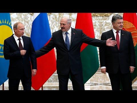 Лукашенко - Путину: Не пищи, будь мужчиной!