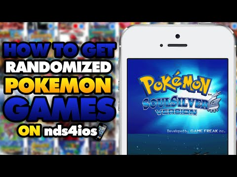 nds4ios: How to Get Randomized Pokemon Games (NO COMPUTER) (NO JAILBREAK)