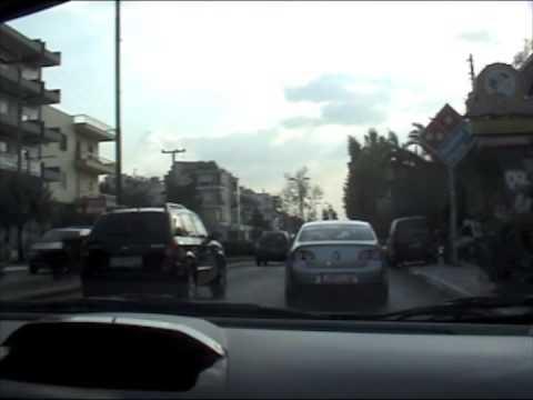 Il test-drive ad Atene in occasione della presentazione alla stampa della nuova Chevrolet Spark. Video by Valentina Sansoni