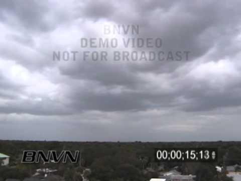 9/4/2004 Hurricane Frances In Sarasota, FL TimeLapse