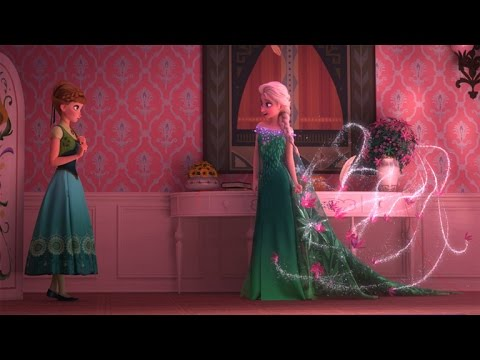 First Look At Frozen Fever Elsa Celebrates Anna S