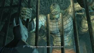 Batman: Arkham City - Killer Croc Easter Egg
