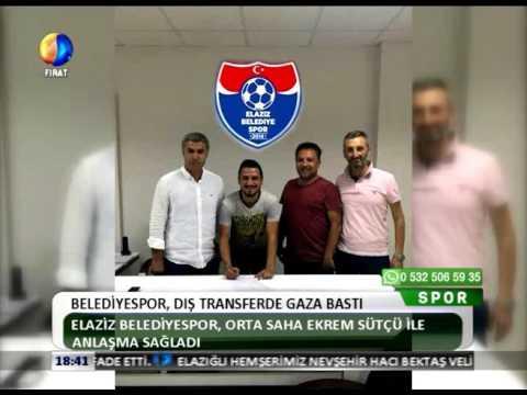 Kanal Fırat Spor - Belediyespor Dış Transferde Gaza Bastı