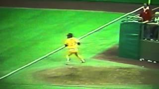 Pittsburgh Pirates' Dave Parker Amazing Throws In 1979 All Star Game!