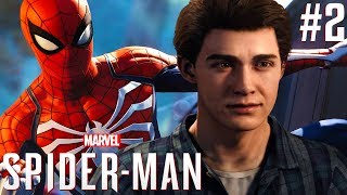 PETER PARKER ONTMASKERD ?! | Marvel's Spider-Man Let's Play #2