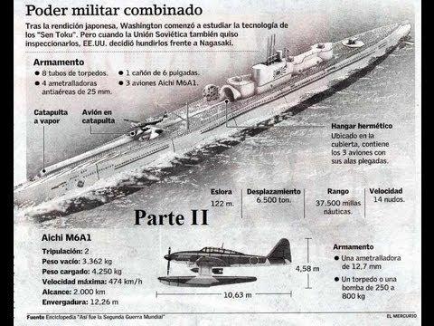 Documental History Channel: 2/2 - El submarino japones que iba a atacar el Canal de Panamá