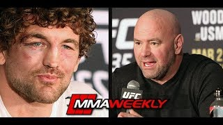 Dana White Addresses Ben Askren Beef: 'That Dude is Nuts'
