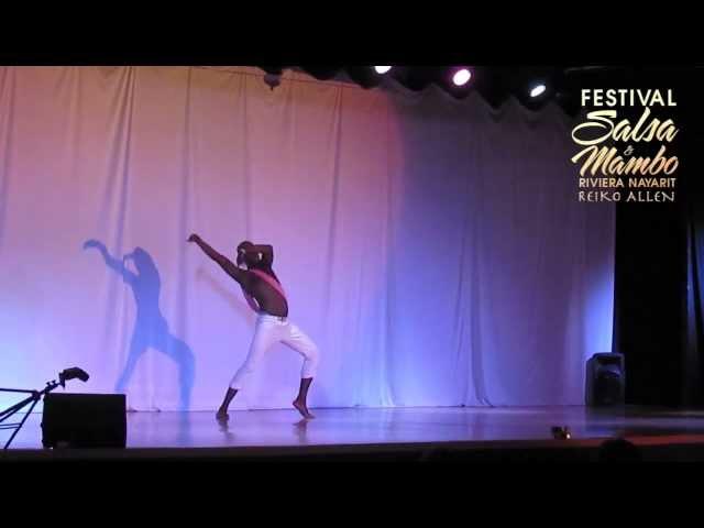 Sekou McMiller - Riviera Nayarit Salsa & Mambo Festival 2013