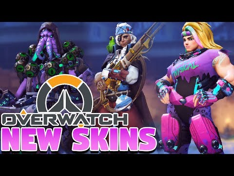 51 LOOT BOX OPENING! New Overwatch Halloween Terror Event | New Skins, Emotes, & MORE!