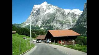 Switzerland 16 (Camera on board) Grindelwald (BE) Nature, Mountains and Chalets [HD]