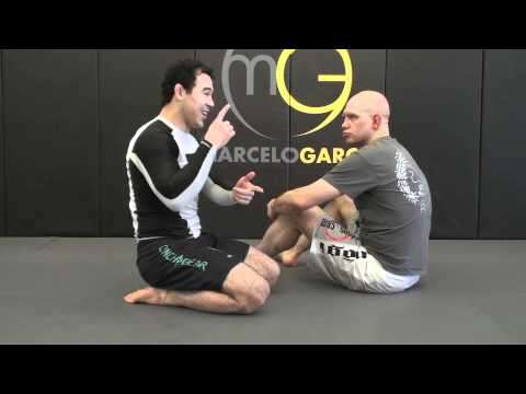 How to do the North South Choke by Marcelo Garcia Image 1