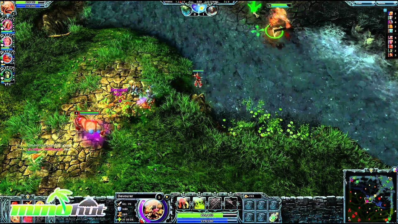 Heroes Of Newerth Gameplay First Look Hd Part 1 2