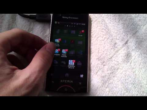 Sony Ericsson Xperia ray ST18i (Android 2.3.4) - Hands-on