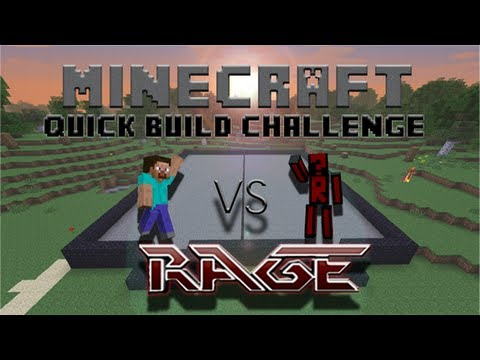 Minecraft Quick Build Challenge - Prison!