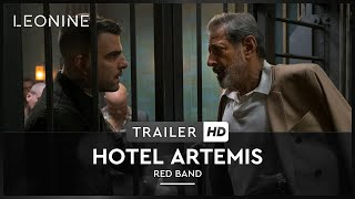 HOTEL ARTEMIS | Red Band Trailer | HD | Offiziell | Kinostart: 26. Juli 2018
