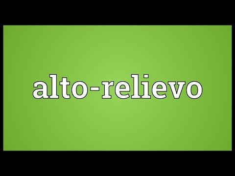 Header of Alto-relievo
