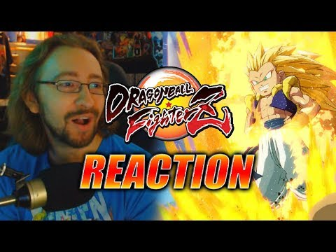 MAX REACTS (Lazy Edition): Gotenks Reveal Trailer - DragonBall FighterZ