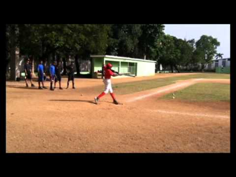 Baseball Prospect Andrew Steel (OF) Tryout 2013