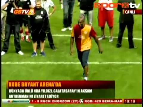 Kobe Bryant Penalty Shootout at Galatasaray resmi