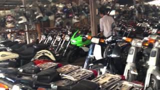 Chợ xe máy cũ Phnompenh / Campuchia