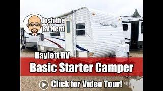 2009 R-Vision 19FS Super Sport Basic No Slide Starter Bunkhouse Travel Trailer