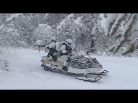 Northern Fleet riflemen conduct military drills in Murmansk region, Russia