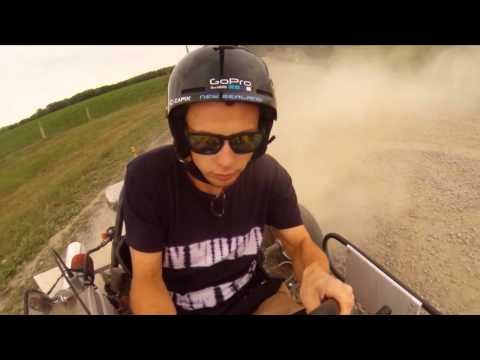 Go-carting with the GoPro South Canterbury New Zealand