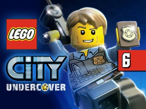 LEGO City Undercover Gameplay Walkthrough - Part 6 Morgan Freeman Wii U Let's Play Commentary