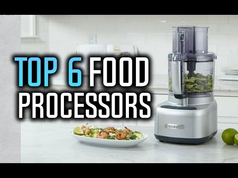 Best Food Processors in 2017!