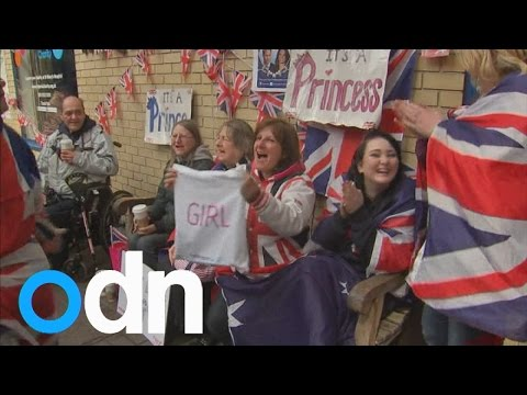 It's a princess! Royal Baby girl for the Duke and Duchess of Cambridge