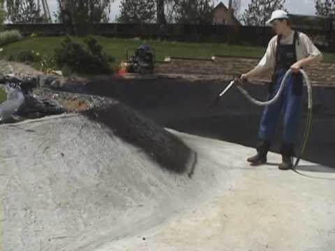 Глиняная гидроизоляция пруда