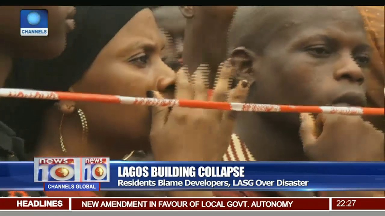 Lagos Building Collapse Rescue Operations End, 8 Deaths Confirmed