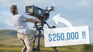 Shooting With a $250,000 INSANE Camera Setup !