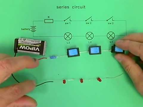Series circuit - 3 LEDs