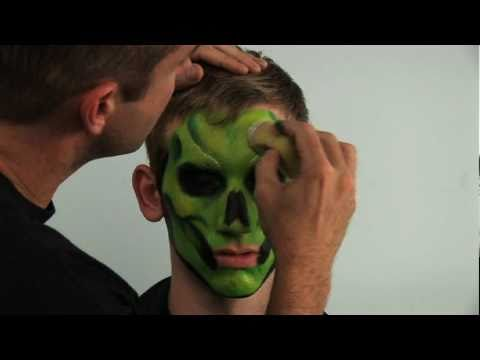 Extreme Face Painting with Brian and Nick Wolfe: How to Paint a Skull and a Mardi Gras Mask