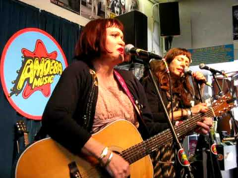"Exene Cervenka - ""Somewhere Gone"" @ Amoeba Music, Berkeley, 11/7/09"