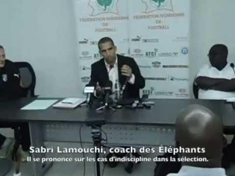 Av C.I-Sénégal: Sabri Lamouchi parle d'Éboué, à Alain Giresse et aux ivoiriens