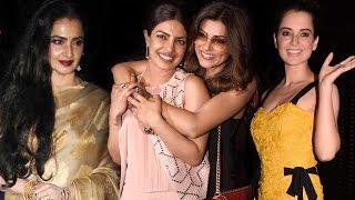 Priyanka Chopra Parties With Rekha, Kangana Ranaut, Sushmita Sen & Others