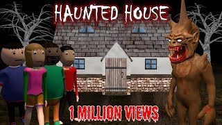 Haunted House - Donate Food | Horror Story (Animated In Hindi) Make Joke Horror