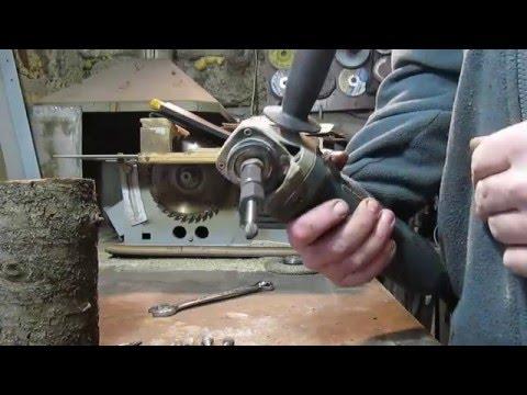 Ручной фрезер из болгарки своими руками