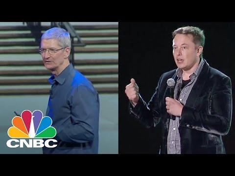 Apple-Tesla Rivarly Grows More Intense | Tech Bet | CNBC