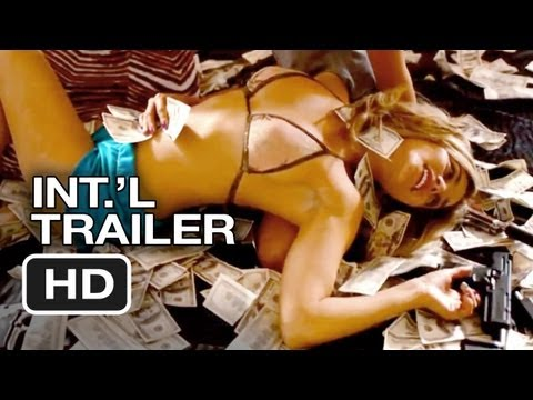 Spring Breakers Official Uncensored International Trailer 2 2013 James Franco ...
